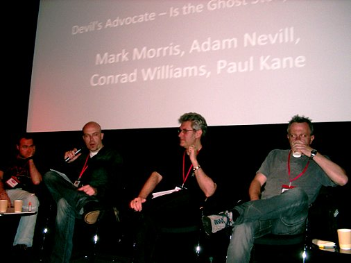 Mark Morris, Adam Nevill, Paul Kane, Conrad Williams