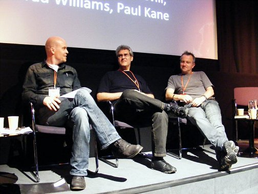 Adam Nevill, Paul Kane, Conrad Williams