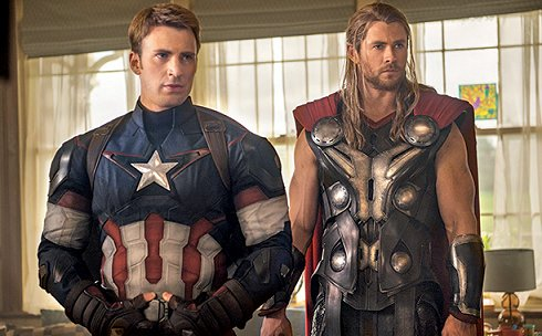 Avengers: Captain America and Thor