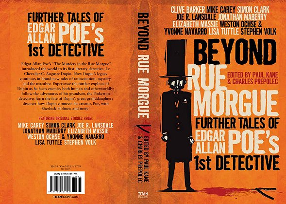 Beyond Rue Morgue, edited by Paul Kane and Charles Prepolec