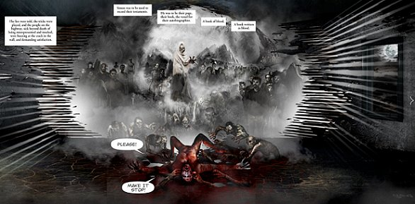 Book of Blood Comic Panel 4