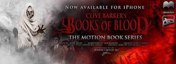 Clive Barker's Books of Blood motion comic series