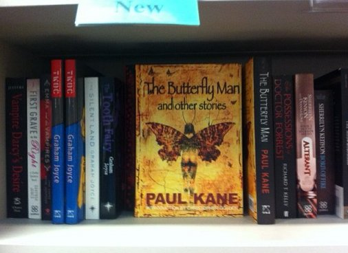 The Butterfly Man and other stories, by Paul Kane