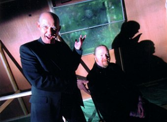 Doug Bradley and Russell Cherrington