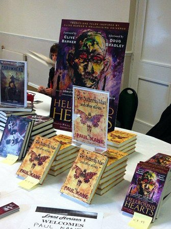 Butterfly Man, Carnivale of Horror, Hellbound Hearts and Arrowhead display, Event Horizon