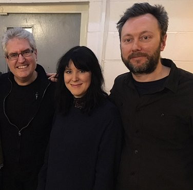 L to R: Paul Kane, Alice Lowe, Simon Barnard