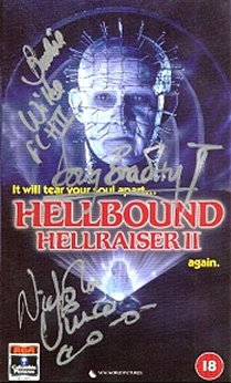 Hellbound Cover signed