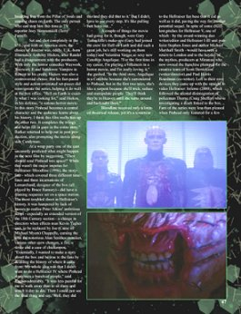 Scars magazine, Hellraiser article Page 4