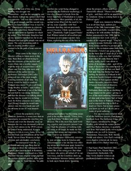 Scars Magazine, Hellraiser article, Page 5