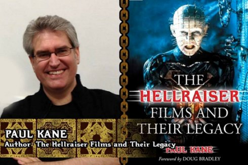 Paul Kane, author of The Hellraiser Films and their Legacy
