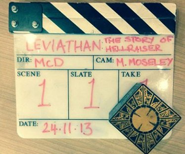 Leviathan Clapperboard and puzzle box