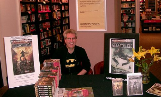 Paul Kane, Arrowhead trilogy signing