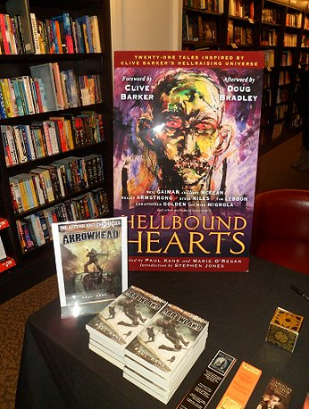 Hellbound Hearts signing, Waterstone's, Nottingham
