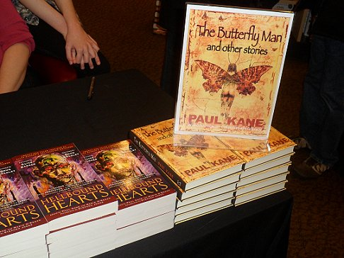 Hellbound hearts, edited by Paul Kane and Marie O'Regan; The Butterfly Man and Other Stories, by Paul Kane