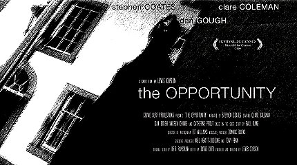 The Opportunity, a film by Lewis Copson