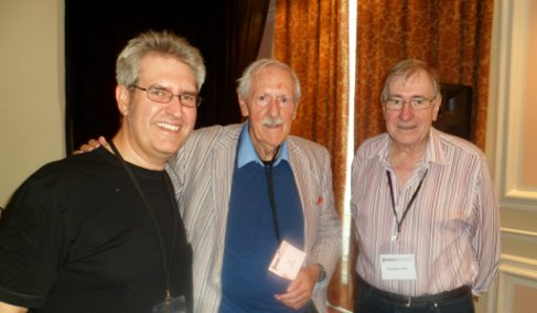 Paul Kane, Brian Aldiss O.B.E. and Christopher Priest