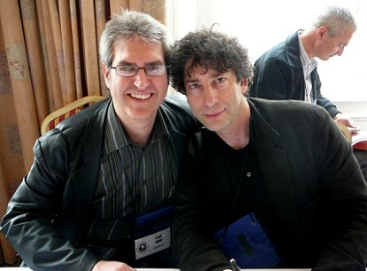 Paul Kane and Neil Gaiman