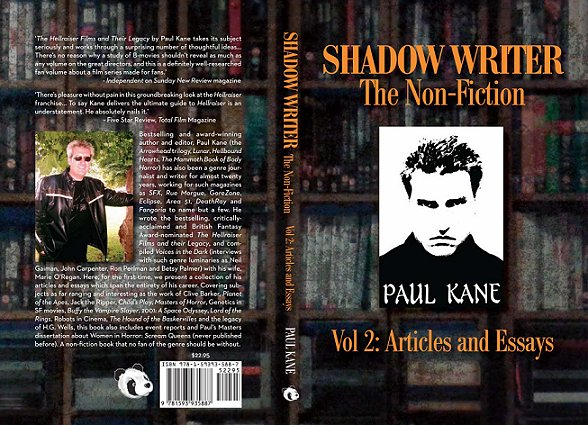 Shadow-Writer The Non-Fiction vol. 2, Paul Kane