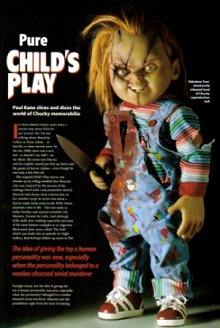 TV and Film Memorabilia, Chucky Article