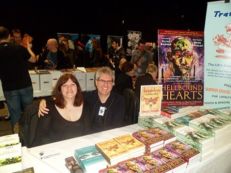 Marie O'Regan and Paul Kane, Hellbound Hearts signing, Thought Bubble