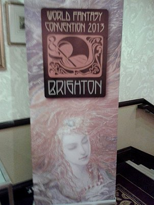 World Fantasy Convention 2013 Brighton standee