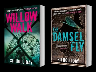 Willow Walk and The Damsel Fly, by SJI Holliday