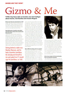 Zach Galligan Interview